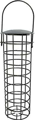 "1 x 10550 Deluxe Heritage Wild Bird Hanging Fat Ball Feeder Garden Suet Ball Feeders 10"" by Heritage Pet Products"
