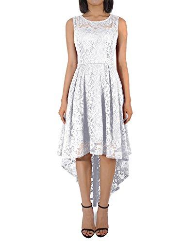 KT-SUPPLY Damen Kleider aus Spitze Cocktailkleid Abendkleid Ballkleid Brautjungfernkleid...