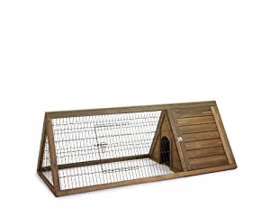 Home Sweet Home Hutch-n-Run Apex Rabbit/ Guinea Pig Hutch, Large by SHAZO