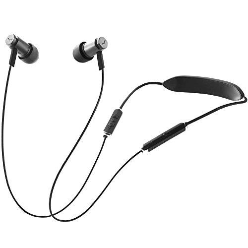 V-MODA Forza Metallo Wireless Écouteurs Intra-Auriculaires Sans Fil - Noir Gunmetal