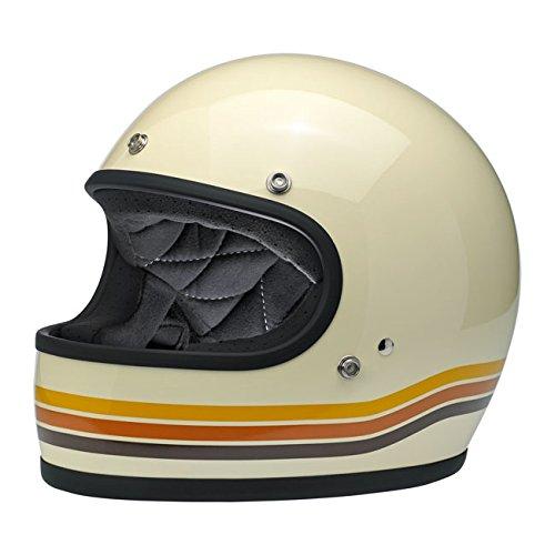 Gringo Biltwell Vintage Desert Integralhelm Helmet Vintage Retro 70er Jahre Custom Chopper Bobber Größe 2XL