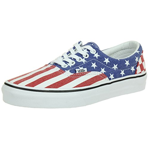 VANS Classic ERA Sneaker Skater Unisex canvas ZULFP1 Stars Stripes USA, Schuhgröße:EUR 39 (Stripe Canvas)