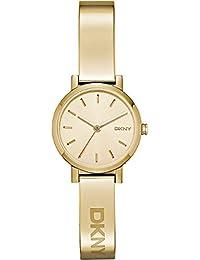 DKNY Damen-Armbanduhr SOHO Analog Quarz Edelstahl NY2307
