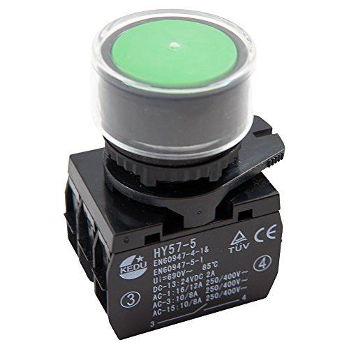 Drucktastenschalter KEDU HY57-5 für verschiedene stationäre Werkzeuge und Maschinen