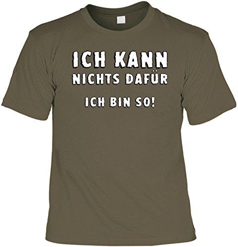 Charakter-jugend-t-shirt (Witziges Sprüche Fun T-Shirt : Ich kann nichts dafür - ich bin so!)