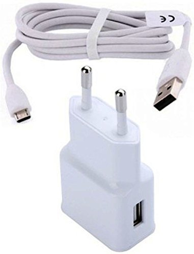Snoogg® Sync Cable Mobile Charger Compatible 2.1Amp 2 USB Port with Cable For ASUS Pegasus 2 Plus  available at amazon for Rs.245