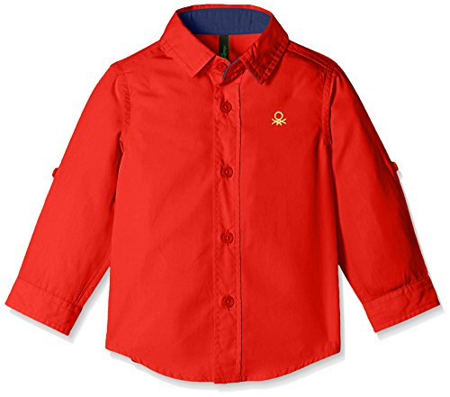 United Colors of Benetton Baby Boys' Shirt (16P5POPC0196I10V_Red_1Y)