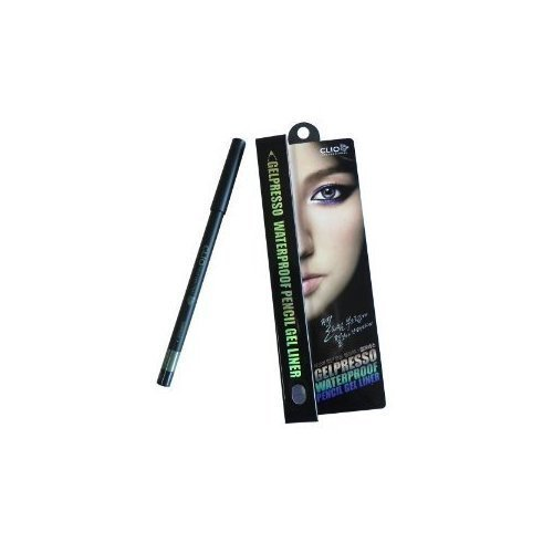 Brand New Clio Gelpresso Waterproof Pencil Gel Eyeliner (Golden Khaki)