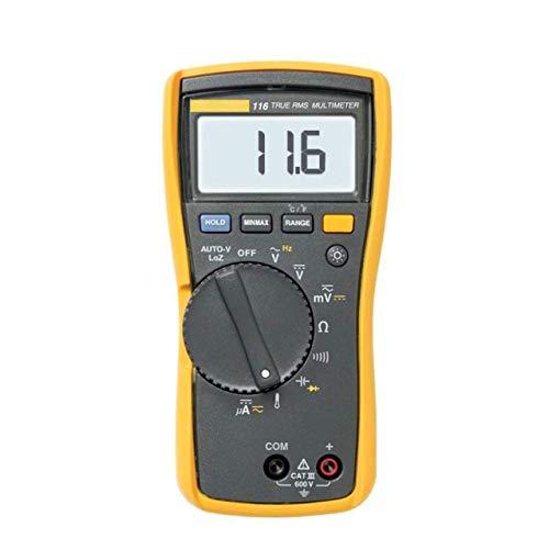 Digital-Multimeter F116C Digital-Multimeter Strommesser Universal-Messgerät 116 ℃ für RC Hubschrauber Drohnen Windsurfen Kite Flying Segeln Surfen Angeln usw. -