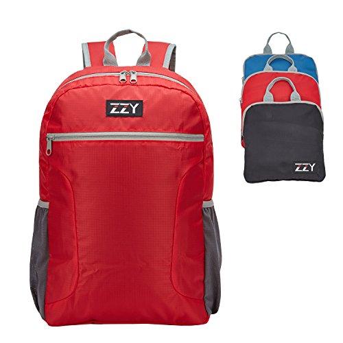 aafdae1ccbfcf ZZY 20L Zaino Leggero Viaggio - Pieghevole Zaino per Città Trekking Zaino  Arrampicata la Sportivo (