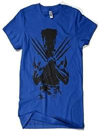 Wolverine Round Neck T-Shirt Blue.