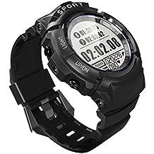VEHOME Smartwatch Deportivo-Reloj Inteligente Deportivo S816 para Hombres - Impermeable IP68 - Rastreador de