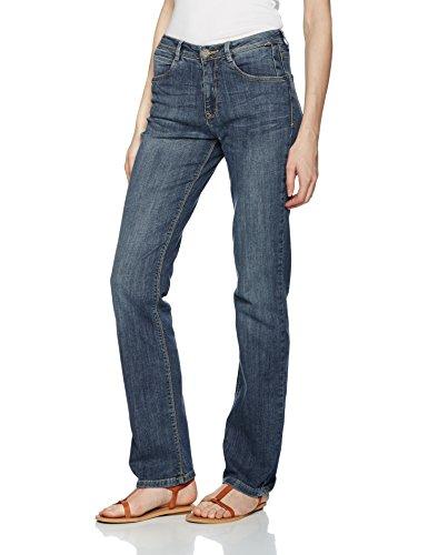 H.I.S Jeans Damen Straight Jeans Coletta, Blau (Seashell Blue 9317), W40/L29 (Herstellergröße: 50/29)