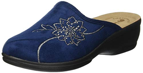 Inblu betulla, pantofole aperte sul retro donna, (blu 84_004), 36 eu