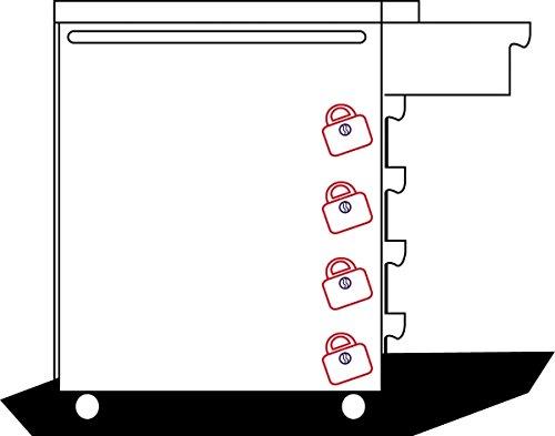 Projahn Werkstattwagen mit 7 Schubfaechern 5901-20 - 4