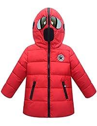 Unisex Comoda Moda Invernale Caldo Cappotto con Cappuccio Personalizzate  Popolare Piumino Giubbotti Soprabito per Bambini e 23fec57a6f8