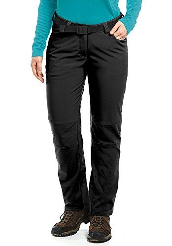 maier sports Tech Pantalon softshell pour W, Noir, 22, 236008