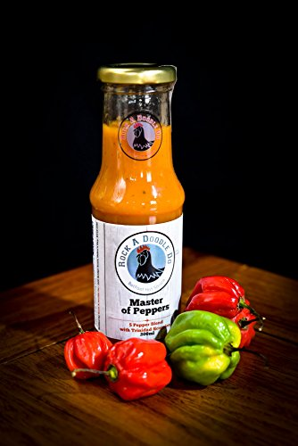 rock-a-doodle-do-master-of-peppers-extra-hot-chilli-sauce-made-with-trinidad-scorpion-dorset-naga-ch