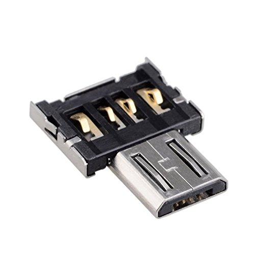 CY ultra mini DM micro USB 5pin OTG adattatore connettore per telefono cellulare tablet & USB cable & Flash Disk