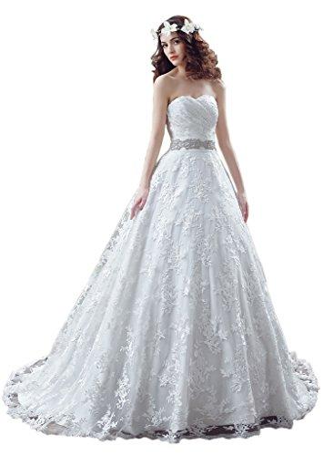 Missdressy - Robe de mariage - Trapèze - Femme - YXMMD2914SQS