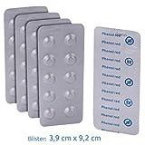 Blueborn 50 x Phenol Red Test-Tabletten PH-Wert Test Phenol Rot Rapid für Pool & Schwimmbad Wasser