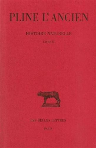 Histoire naturelle, livre II : Cosmologie