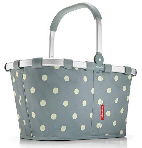 Reisenthel carrybag Black Einklaufskorb (Grey Dots) - Grau Dot