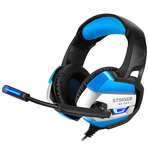 Woxter Stinger GX 250H-Écouteurs Gaming Retro-eclairage RGB 7.1