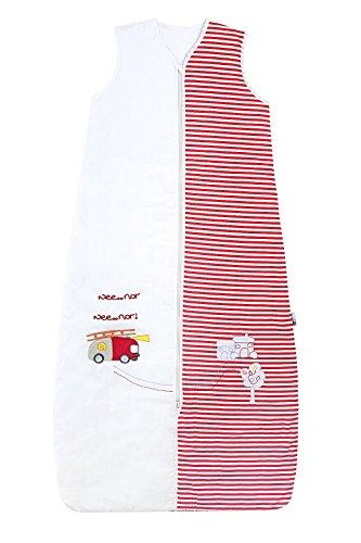 Preisvergleich Produktbild Schlummersack Kinder Ganzjahres Schlafsack 2.5 Tog - Feuerwehr - 150 cm/6-10 Jahre