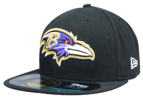 Casquette Baltimore Ravens NFL Authentic On Field Casquette New Era 59Fity | Taille: 6 7/8 - 7 5/8 Team