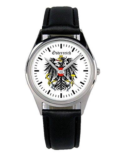 Österreich Geschenk Artikel Idee Fan Wappen Uhr B-1127