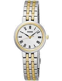 Seiko Damen-Armbanduhr Analog Quarz Edelstahl SRZ462P1