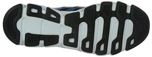 adidas Falcon Elite 4M, Chaussures Homme Gris / Noir / Bleu