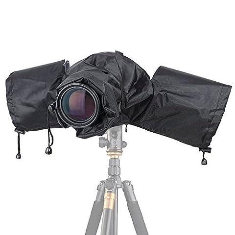 Camera Rain Cover,EMIUP Professional Camera Rain Rainshade Protector For Canon,Nikon,Sony and Other Digital SLR