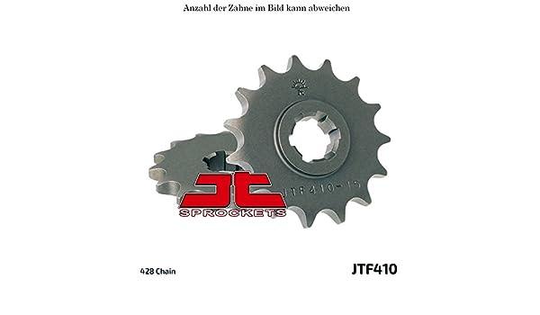Ritzel 14 Z/ähne f/ür GN 125 Baujahr 1997-1999 von jtSprockets