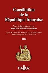 Constitution de la République Française 2013 - 11e éd.
