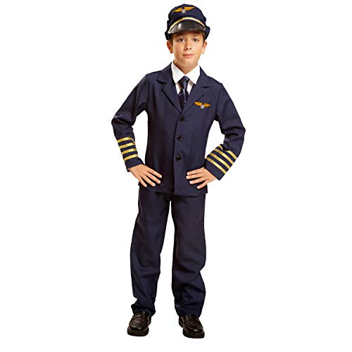 (My Other Me Kind Kostüm Piloten-(viving Costumes) 5-6 años)