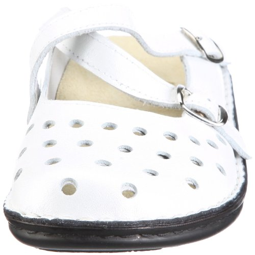 Hans Herrmann Collection Parma 026808-10 Damen Clogs & Pantoletten Weiss/Bianco