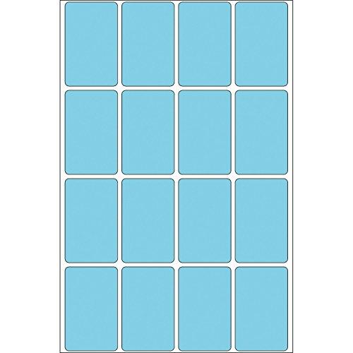 HERMA 2453 - Etiqueta autoadhesiva (2,5 cm, 4 cm, 11,1 cm) Azul