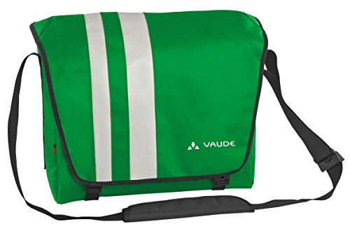 VAUDE Unisex Umhängetasche Bert, apple green, 32 x 40 x 15 cm, 19 liters, 12245 Apple Green Leder