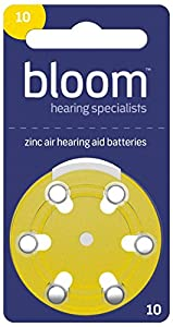 Rayovac Hearing Aid Batteries for Bloom Size 10 (Pack of 60 Cells)