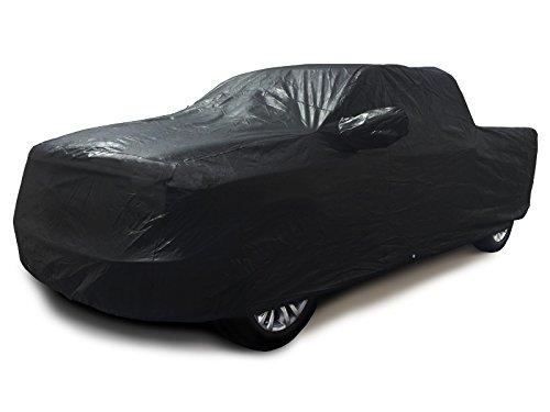carscover 100% Sunblock Custom Passform 2000-2016Chevy Silverado 1500Crew Cab kurz Bett Box Truck Car Cover xtrashield schwarz (2010 Chevy Silverado 1500)