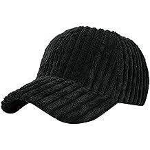 hunpta mujeres hombres pana Gorra de béisbol gorra de hip hop sombrero da3f5ba4615