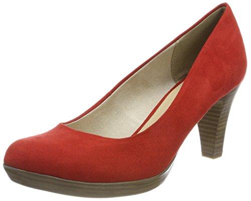 Marco Tozzi 22411, Zapatos de Tacón Para Mujer, Rojo (Chili), 38 EU