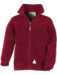 Niños de los niños polarthermtm chaqueta de forro polar al aire libre Causal escuela uniforme