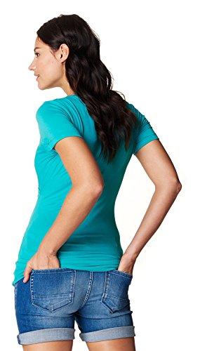 Noppies - T-Shirt - Col Rond - Femme Vert Vif