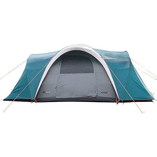 ntk tienda de campaña resistente 100% impermeable para 8 a 9 personas acampada al aire libre y senderismo tamaño familiar 460 x 300 x 190 cm - laredo gt 8/9