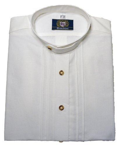 Stehkragen-Trachtenhemd weiss XXXL