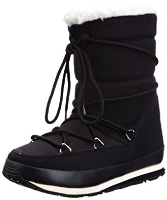 Rubber Duck Women's Artic Joggers Low Black Snow Boots SNO20063010703 3 UK
