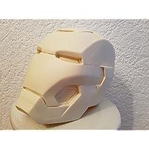 Iron Man Mk 42 Resin Helm raw Avengers
